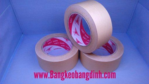 Băng keo da bò nhám ( Bang keo giấy nâu viết được)